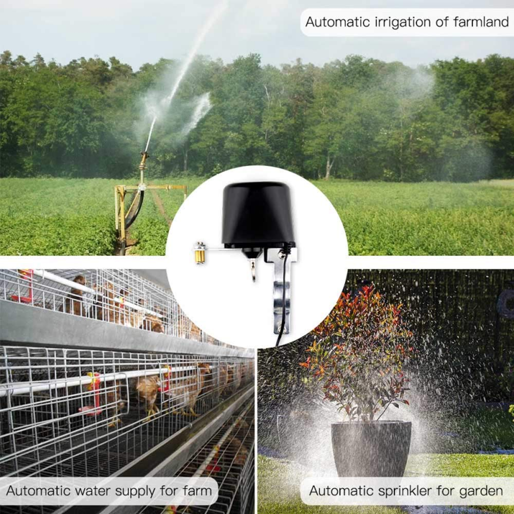 Tuya Smart WiFi Control Water Valve /Gas Valve Compatible with Alexa Google Home and IFTTT
