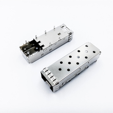 no-standard Solder Type SFP Cage Dust cover connector for shield