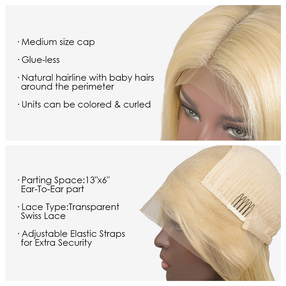 Xibolai transparent swiss lace brazilian human wig,613 Wholesale price lace front wigs,invisible lace front wigs for black women