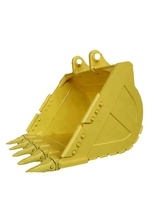E320 E325 E330 excavator wheel loader spare parts rock bucket for sale