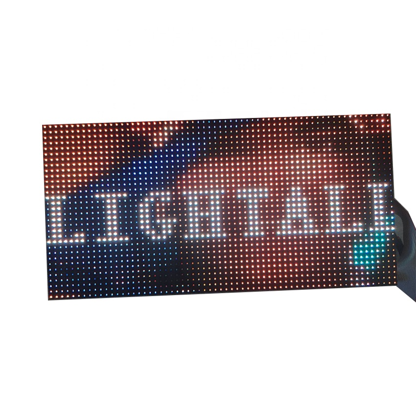 HD SMD High quality P10mm 320x160mm Module Indoor Led Video Wall Panels 1/4S Full Color Led Lamp <strong>Advertising</strong> Screen <strong>Sign</strong>