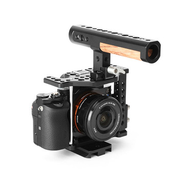 Thorvideo Universal Profesional Aluminum Alloy Handle Video Camera Cage for Sony A7 Stabilizer Photography Equipment