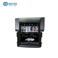 10.4 inch tesla touch screen Car dvd radio Player for honda crv 2012-2015 with android wifi gps and BT