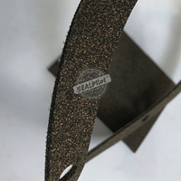 Durable cork rubber sheet for automotive engine