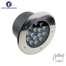 Super brightness outdoor lighting 15w ground spot ip67 underground light