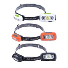 DAINING amazon hot selling rechargeable sensor headlamp 3w mini head light usb outdoors head torch