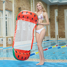 beach big pool toys <strong>inflatable</strong> float water hammock tank floating sea pool custom floater buoy beer-pong water park floating logs