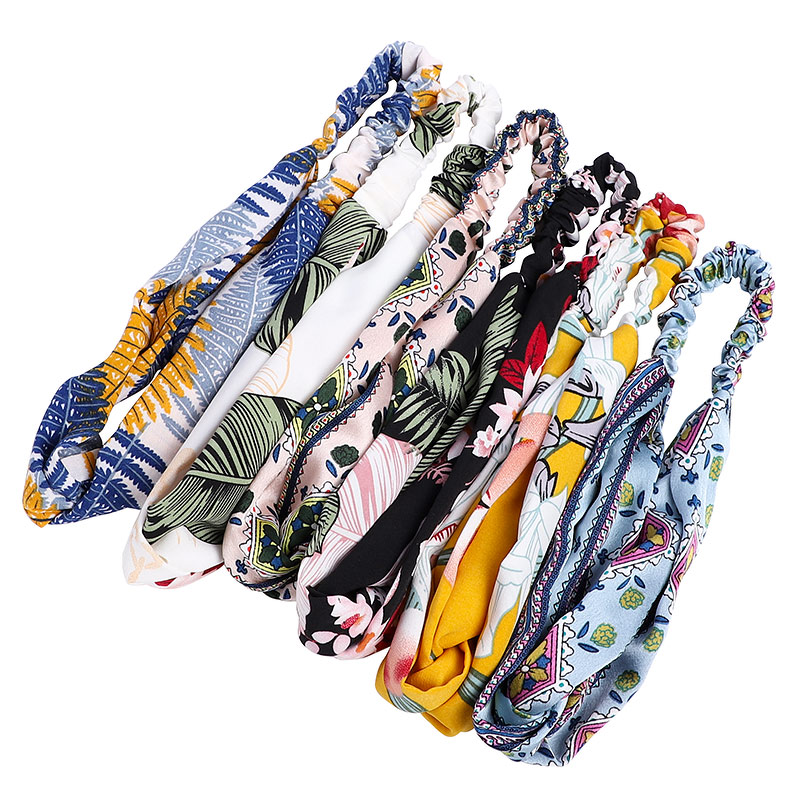 Fashion Trend Hawaii style Hair band elastic <strong>headband</strong> for Women hair accessories