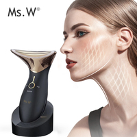 Latest trends at home portable rf beauty system care skin Led light beauty machine facial beauty equipment