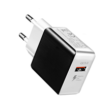 SIPU US EU 5V 3A qc 3.0 mobile phone fast charging travel usb wall <strong>charger</strong>