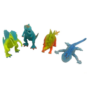 Cross-border customized PU toy animal world dinosaur toy PU slow rebound vent toy