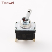 Toowei waterproof toggle switch 15a 20a 3-way on off on momentary toggle switch