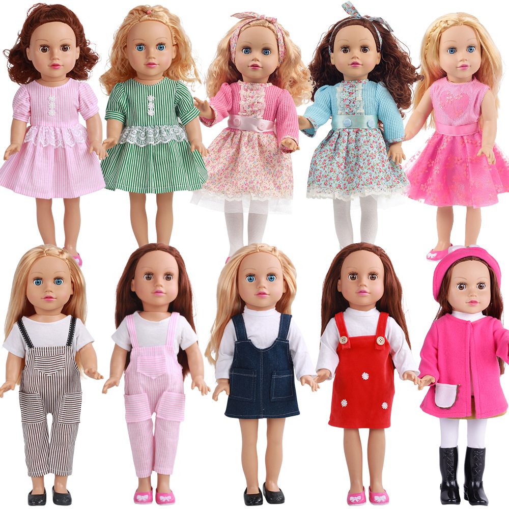 Soft Vinyl 18 inch 45cm <strong>Doll</strong> with Cloth Girls Toys Cloth Changing Pretend Game Companion Take Away <strong>Dolls</strong> IN STOCK