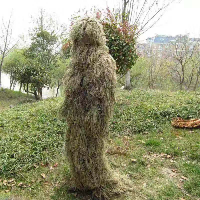 Woodland camouflage suit outdoor ghillie sui for hunting tactical military activity