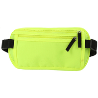 Money Belt RFID Blocking Undercover Hidden Waist Stash For Travelling Waist Wallet