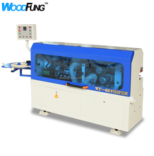 Good quality semi automatic pvc formica edge banding machine production <strong>line</strong> WF60E