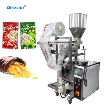 50g 100g 200g Popcorn / Nuts Snack Food Packaging Machine