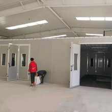 Long life outdoor furniture spray paint booth from China