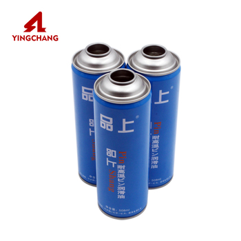Aerosol spray can empty tinplate aerosol canister empty aerosol tin can with factory price