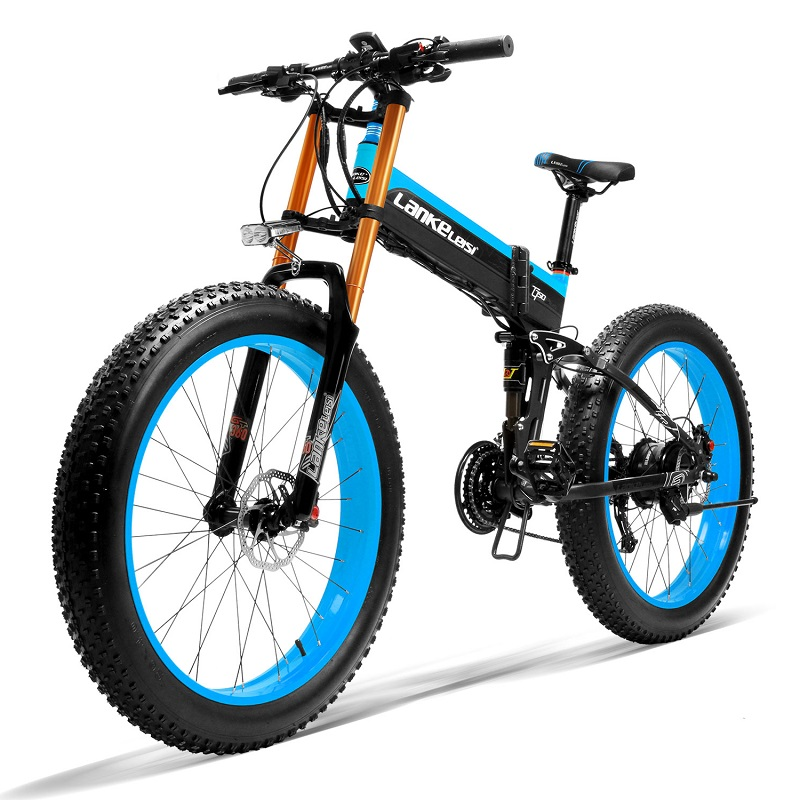 Multi Speed Electric Bike 26 Inch Fat Electric Bicycle <strong>1000</strong> <strong>W</strong> Motor with Aluminium Alloy Frame