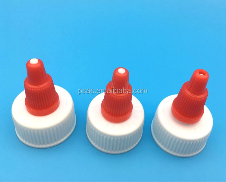 24/410 plastic cover head Salad dressing bottles top cap tomato sauce bottle caps