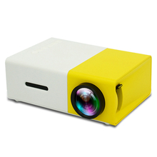 Portable Android Home theater Mini pocket <strong>Projector</strong> YG300 Yellow Black color