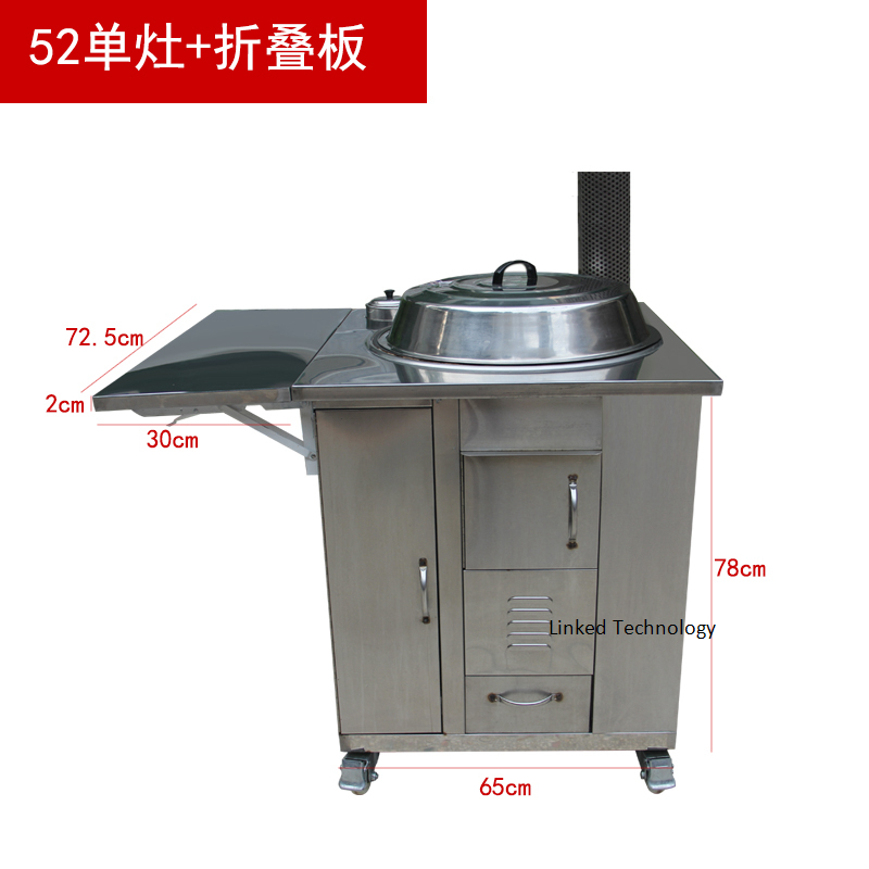 stainless steel outdoor wood fired  cooking ovens camping stove wood burning