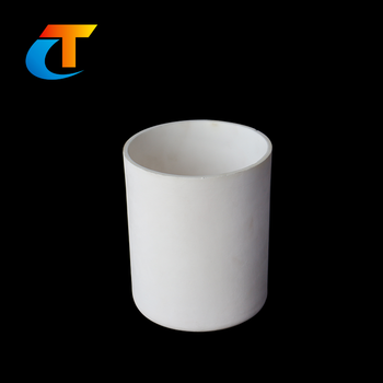Al2O3 crucibles alumina ceramic rectangle crucible with lid porcelain