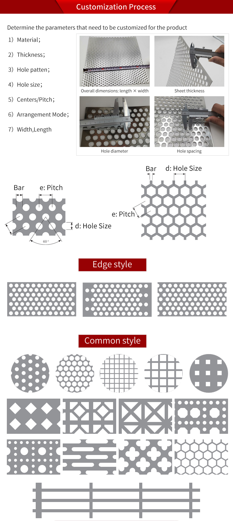 High Quality Perforated Stainless Steel Metal Plate Panel Mesh Speaker Grille Sheet