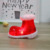 Shoe-shaped Red LED Plastic Light