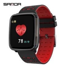 SANDA K02 Luxury <strong>Smart</strong> <strong>Watches</strong> For Women Men Heart Rate Monitor Sports Multi-function Fitness Tracker Bluetooth Brand <strong>Watch</strong>