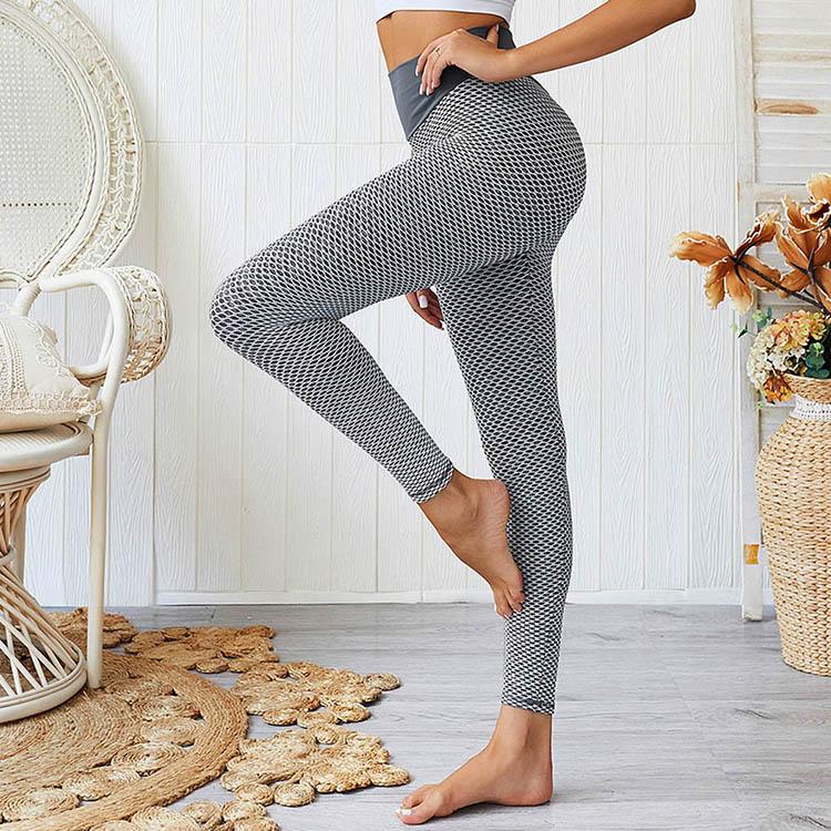 2019 Solid High Waist Fitness Slimming Sport Running Women Yoga Pants Leggings