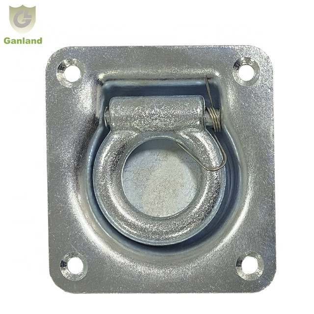GL-14138 Recessed Lashing Tie Down <strong>D</strong> Ring For Truck Boat Deck