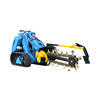 Mini Loader Skid Steer,Mini Tracked loader MS500 with gasoline or diesel engine for landscape