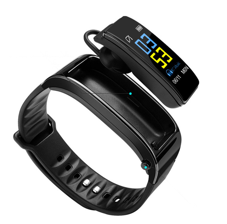 <strong>Y3</strong> Plus Smart Band Wristband Talk Bracelet Fitness Tracker Heart Rate Monitor Bluetooth Earphone Smart Band For IOS Android