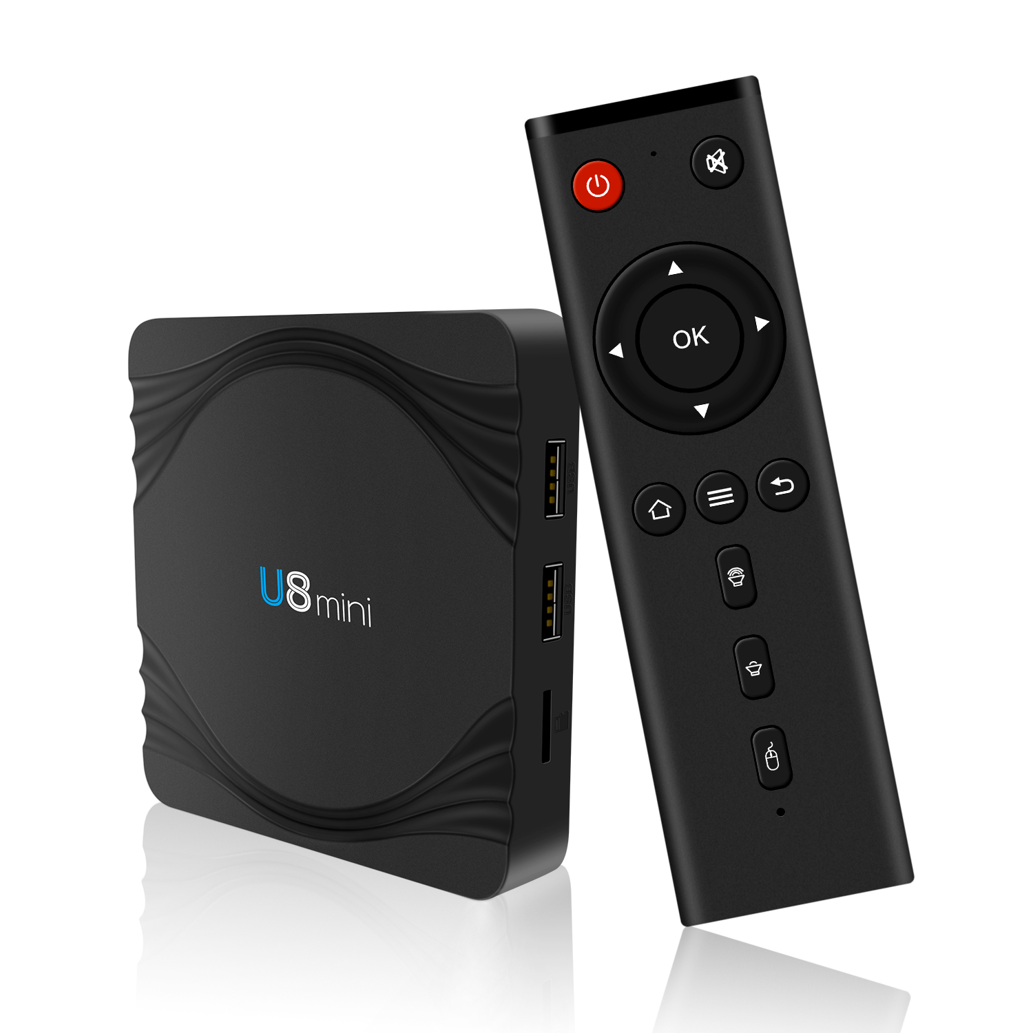 High quality iptv android tv box U8 <strong>mini</strong> 1gb 8gb 2gb 16gb android smart tv youview box