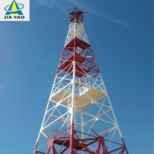 Galvanised Four Legged 4g Wireless Bts Microwave Antenna Communication <strong>120</strong> Meter Self Supporting Steel Lattice Tower