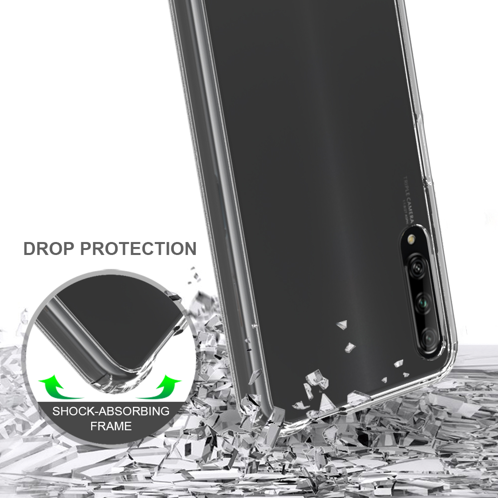 For Huawei Y9S/Honor9X Pro/ P Smart Pro 2019 Cellphone <strong>Case</strong> Clear TPU PC Back Cover