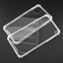Hot Selling Super Anti-Shock Crystal High Clear PC + TPU <strong>Phone</strong> Case Back Cover for iPhone and other <strong>mobile</strong> <strong>phones</strong>