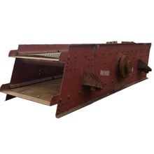Vibratory screen vibrating shaker separator for sand