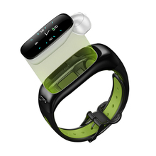 Sport Band Multi Function Hybrid Women Bluetooh Headphone Round Wrist Touch Screen Ce Rohs <strong>Smart</strong> <strong>Watch</strong> For Iphone Android