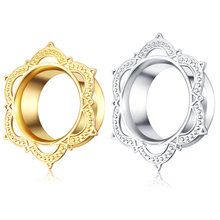 New Arrival Body Jewelry Stainless Steel Silver Body Piercing Jewelry Ear Flesh Tunnel