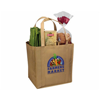 Promotional Non-Woven Tundra Tote Bag, Full Color Digital