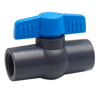GT Factory Hot-Selling UPVC/PVC Ball Valve For Water Supply Compact Or Octagonal Valve Socket/Thread End