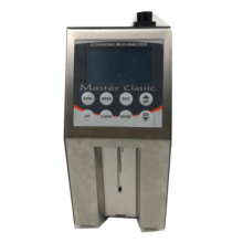 Popular Auto Milk analyzer for testing Fat, SNF, Protein, Lactose, Water content, Temperature, Freezing point, <strong>Solids</strong>, Density