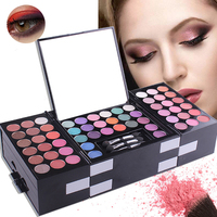 Private label cosmetic eye shadow palette 142 colors makeup sets