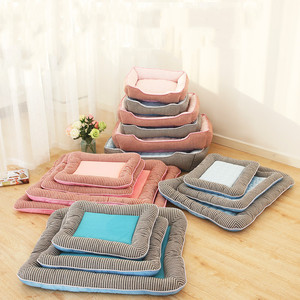 Summer Washable Dog Mat Soft And Breathable Bed For Pet Cooling Pad