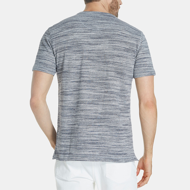 The new fashion design cotton basic plain summer t shirt for men
