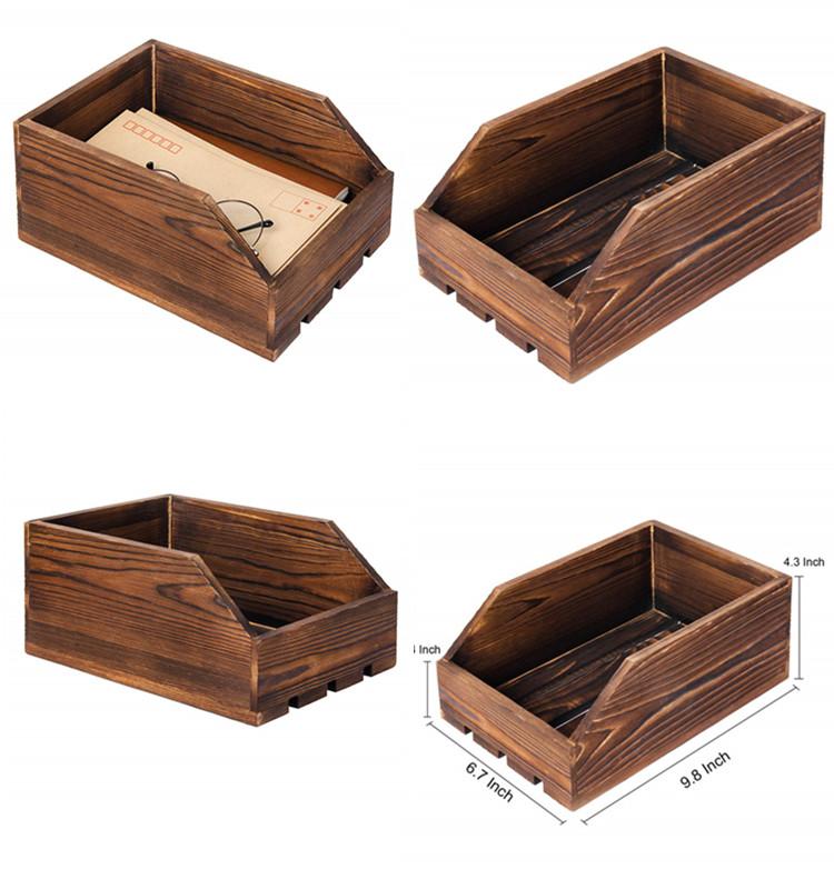 Antique Wooden Storage Nesting Crate