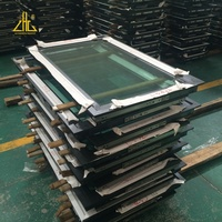 Hospital european style light weight aluminium profile window and door most selling product in China